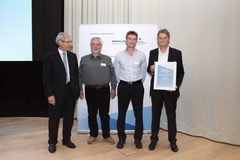 swissQprint recibe premio empresarial
